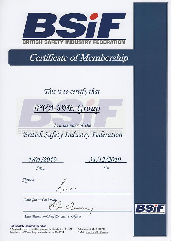 PVA PPE BSIF 2019