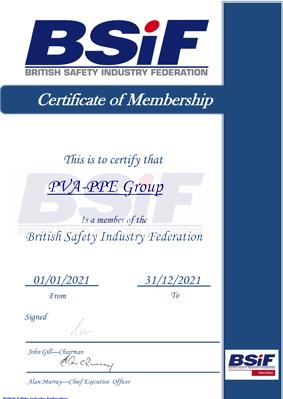 PVA PPE BSIF 2020